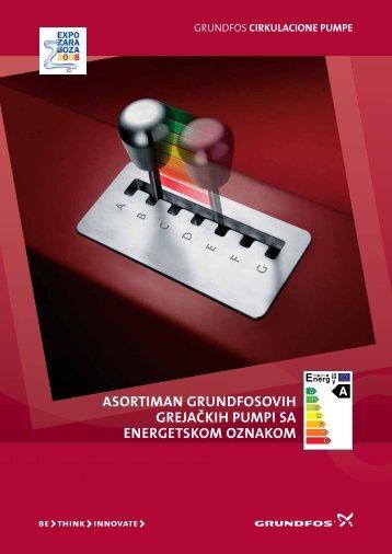 grundfos cirkulacione pumpe - TDM
