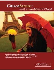 2007 IC Brochure - Travelersmed.info
