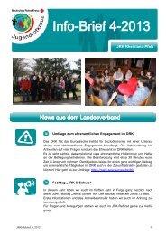 Info-Brief 4 - Jugendrotkreuz Rheinland-Pfalz