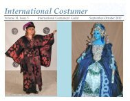 September-October 2012 - International Costumers' Guild, Inc.
