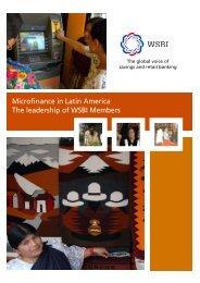 Microfinance in Latin America - Wsbi