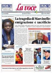 09 AGOSTO 2013 - La Voce d'Italia