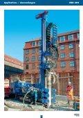 Hydraulisches Bohrgerät Hydraulic drill rig - CASAGRANDE GROUP - Seite 2