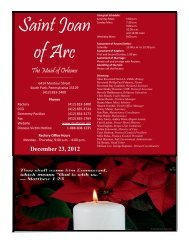 December 23, 2012 - St. Joan of Arc Church