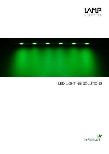 LED LIGHTING SOLUTIONS - Lamp