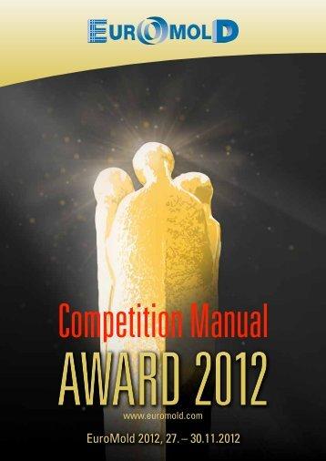 Award-Bewerbungsunterlagen - Euromold