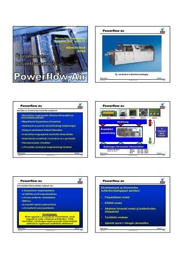 Albrecht Beck ERSA Powerflow Air Powerflow Air Powerflow Air ...