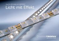 Prospekt 2011: SuperFlux LED Leisten, Licht mit Effekt - LEDS.de
