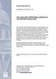 the auxiliary territorial service in the second world war - Imperial War ...