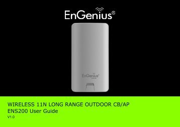 ENS200 User Manual - EnGenius Technologies