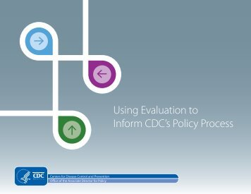 UsingEvaluationtoInformCDC'sPolicyProcess