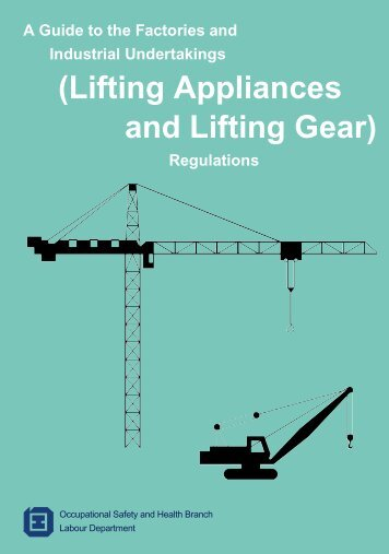 (Lifting Appliances and Lifting Gear)