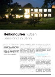 FreeLounge, Ausgabe Dezember 2008, Artikel zur sinnvollen ...