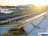 SOLAR IN THE CITY