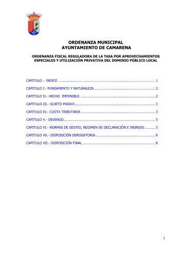 ordenanza fiscal del impuesto sobre construcciones, instal…