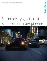 Behind every great artist is an extraordinary pipeline