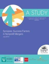 Synopsis - Success Factors in Nonprofit Mergers.pdf