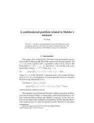 A combinatorial problem related to Mahler's measure