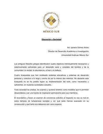Artículo 2 - Universidad Anáhuac México Sur