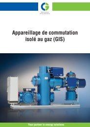 Appareillage de commutation isolé au gaz (GIS) - Cgglobal.com