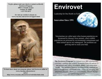 Envirovet - University of Illinois College of Veterinary Medicine