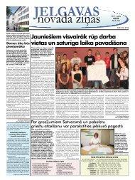 2011. gada maijs Nr. 5 - Jelgavas rajona padome