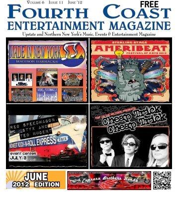June Issue - Fourth Coast Entertainment Magazine