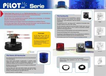 Pilot Solaris LED Kennleuchte: Pilot Suchleuchte: - Rauwers GmbH