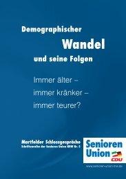 immer teurer? - Senioren-Union NRW