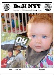 DCH Nyt Juni 2012 - Odder-DCH