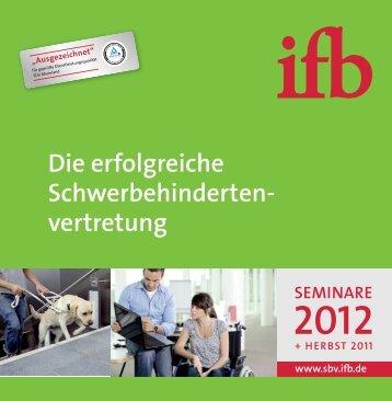 Die erfolgreiche Schwerbehinderten- vertretung - ifb