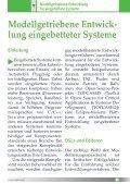 Modellgetriebene Entwicklung für Eingebettete Systeme - Seite 5