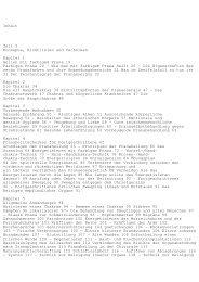 Inhalt Teil I Konzepte, Richtlinien und Techniken Kapitel 1 Heilen mit ...
