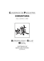 Vol 3. Nº 1. 2003 - Asociación Española de Neuropsiquiatría
