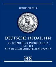 Deutsche Medaillen aus der Zeit des 30jŠhrigen Krieges_Buchvers.