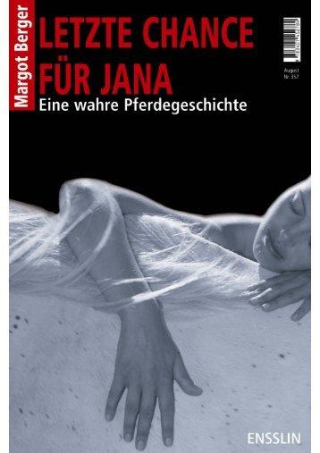 Letzte Chance für Jana: Leseprobe - Margot Berger