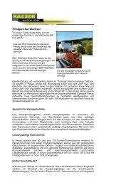 Erfolgreicher Wechsel - KAESER KOMPRESSOREN GmbH