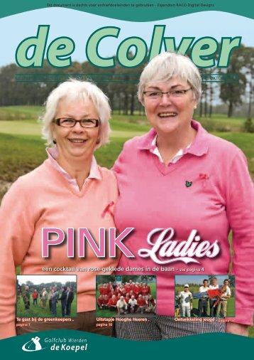 een cocktail van rose-geklede dames in de baan - zie pagina 4