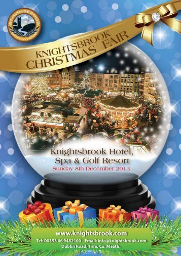 Please Click Here to Download our Christmas Fair Brochure!!!