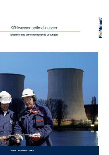 Broschüre - Kühlwasserbehandlung - ProMinent