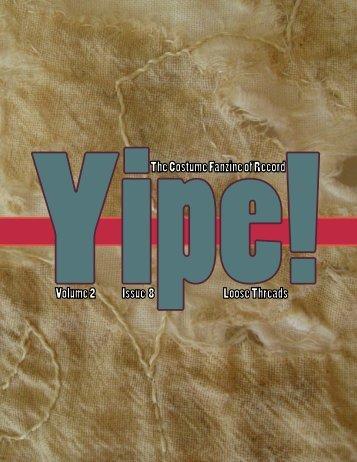 Issue 8 - YiPE!