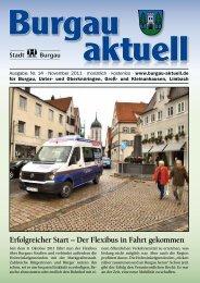 Erfolgreicher Start – Der Flexibus in Fahrt gekommen - Stadt Burgau