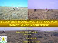 Ecological Modelling - Center for Global Change and Earth ...