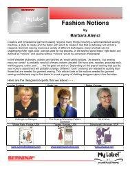 Fashion Notions - My Label 3D Fashion Pattern Software
