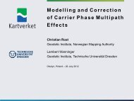 Modelling and Correction of Carrier Phase Multipath Effects - IGS