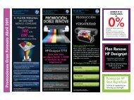 Promociones Marzo 2011 - PMC Grup