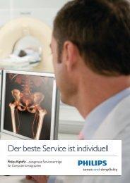 Der beste Service ist individuell - Philips Healthcare