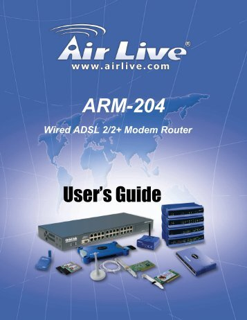 AirLive ARM-204 User's Manual