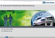 III. Automobil-Zuliefertag Ostbrandenburg - zuliefertag.de