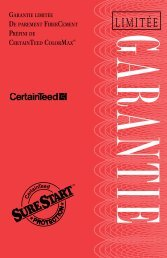Garantie Colormax 15 ans - Goodfellow Inc.